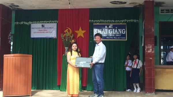 Chương trình hỗ trợ từ thiện tại thị xã An Nhơn - tỉnh Bình Định