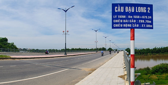 Bypass of 1A National Road, Phan Rang- Cham Tower